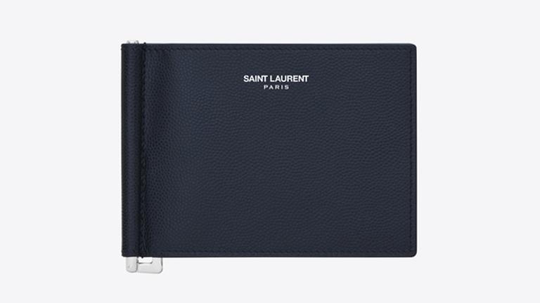 SaintLaurent サンローラン レザー財布 メンズ財布