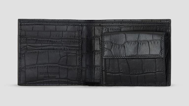 ARMANI アルマーニ 二つ折り財布 メンズ財布