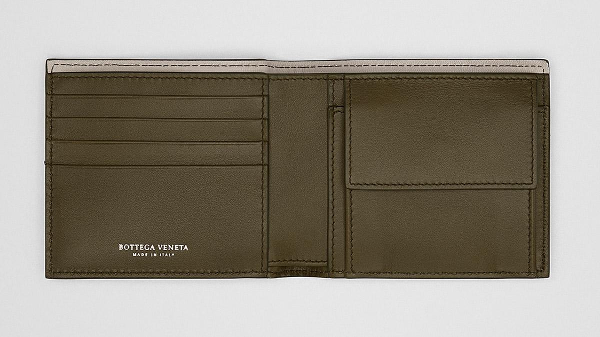 ボッテガヴェネタ メンズ 二つ折り財布