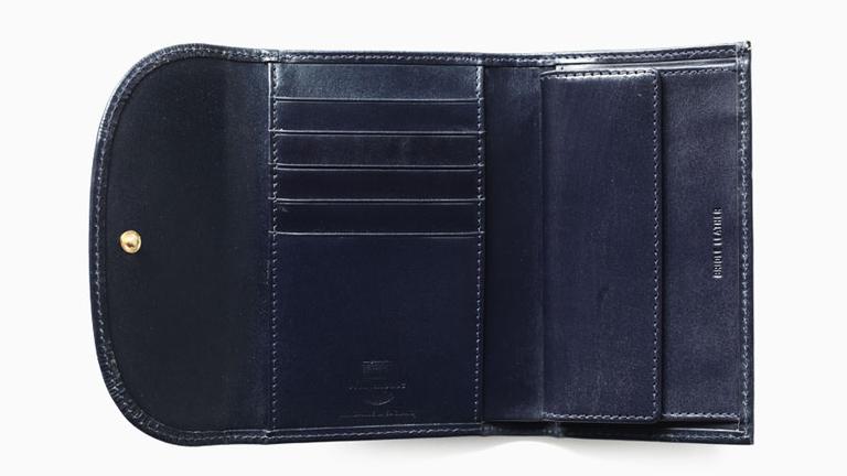 ブライドルレザーのメンズ財布