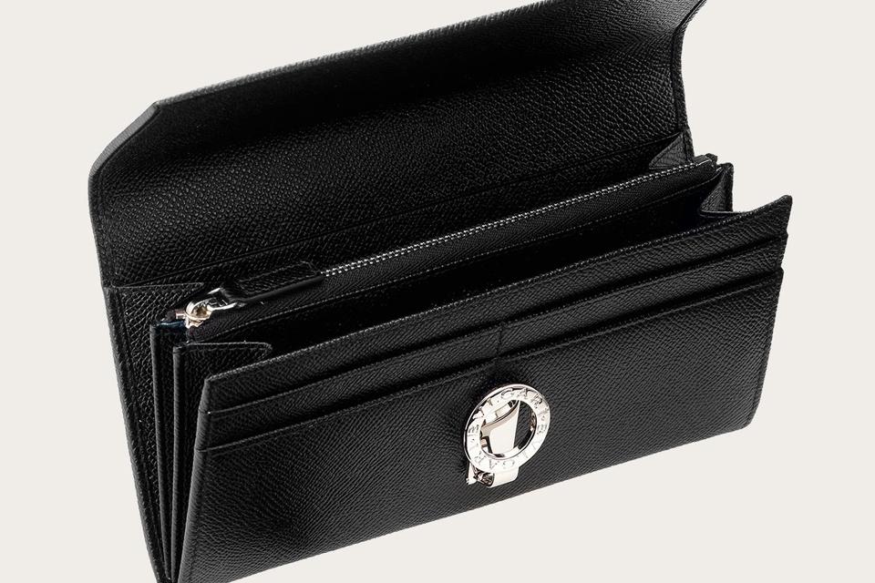 BVLGARI ブルガリ 財布 フラップ式