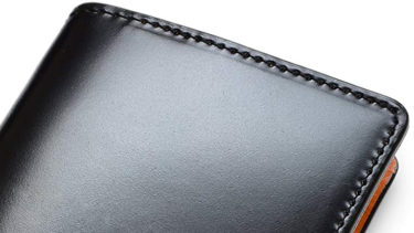コードバンの財布(メンズ)