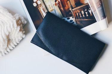 フラップ式財布(メンズ)