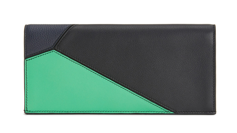Puzzle Horizontal Deep Blue/Green  ロエベ(loewe)