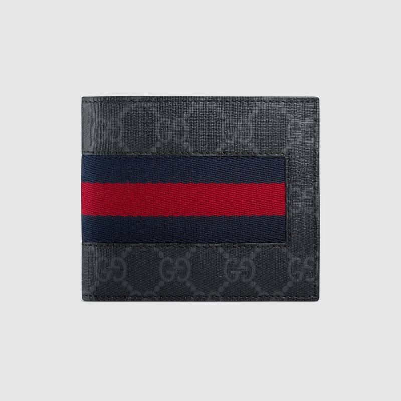 メンズ財布 GUCCI 二つ折り財布