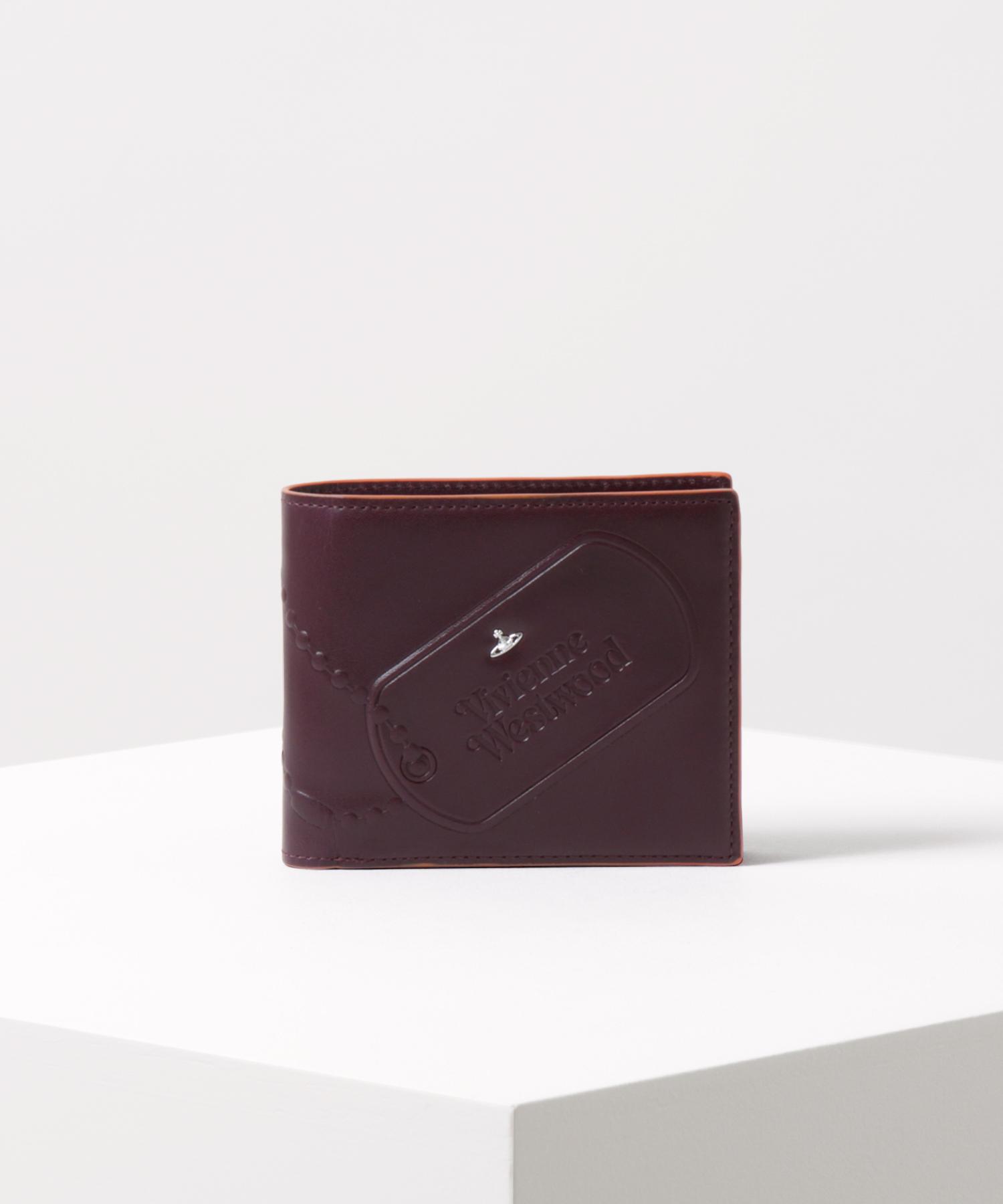 ビビアンウエストウッド 二つ折り財布 ワインレッド