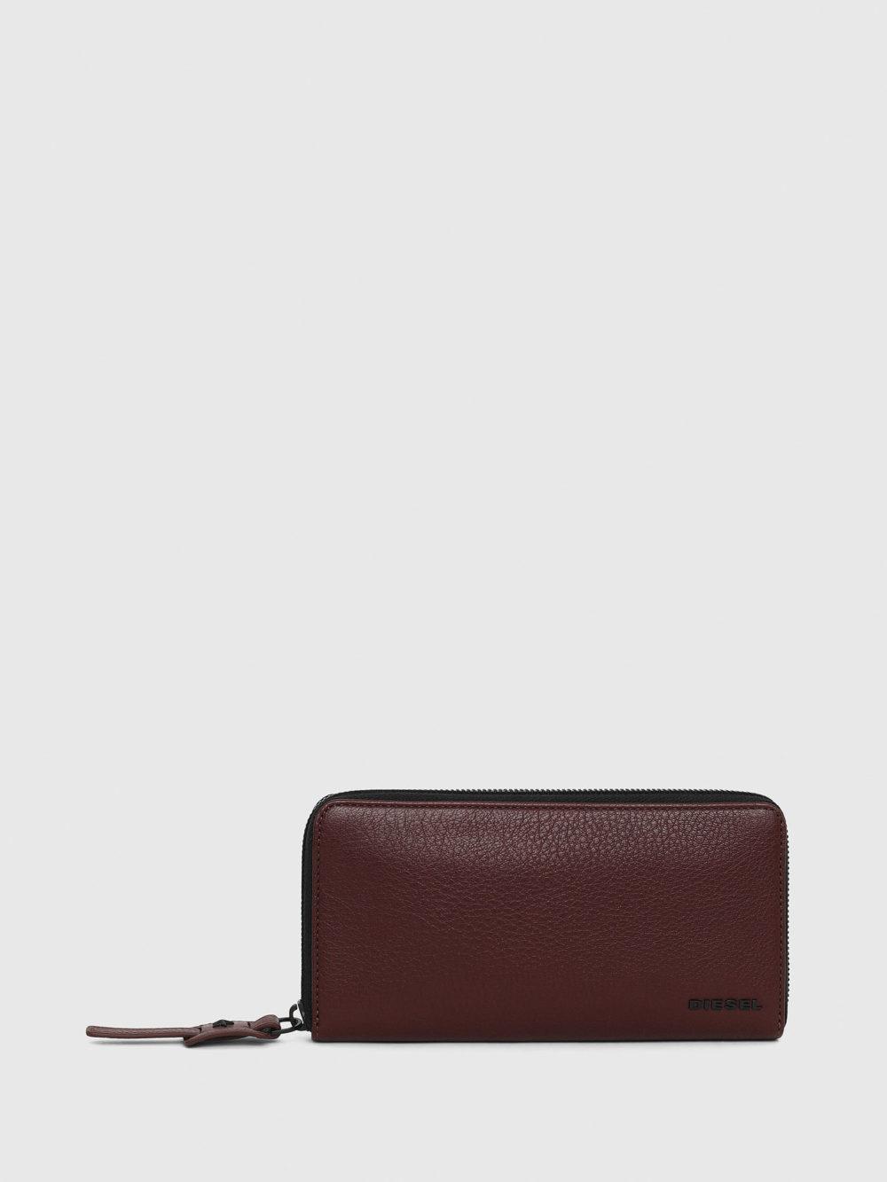 DIESEL ワインレッド 財布