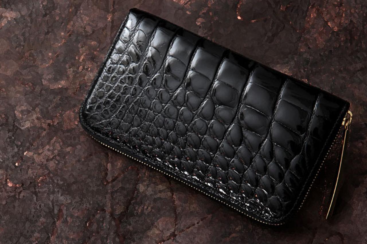 財布メンズ クロコダイル