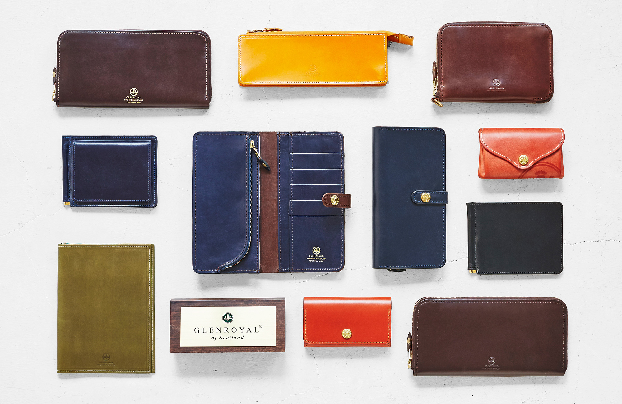 GLENROYAL メンズ財布