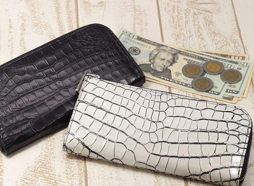 クロコダイル 財布メンズ