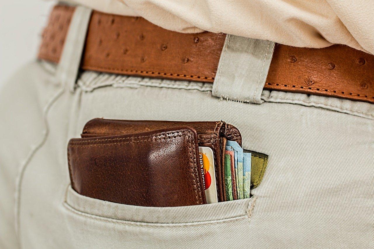 財布メンズ ポケット