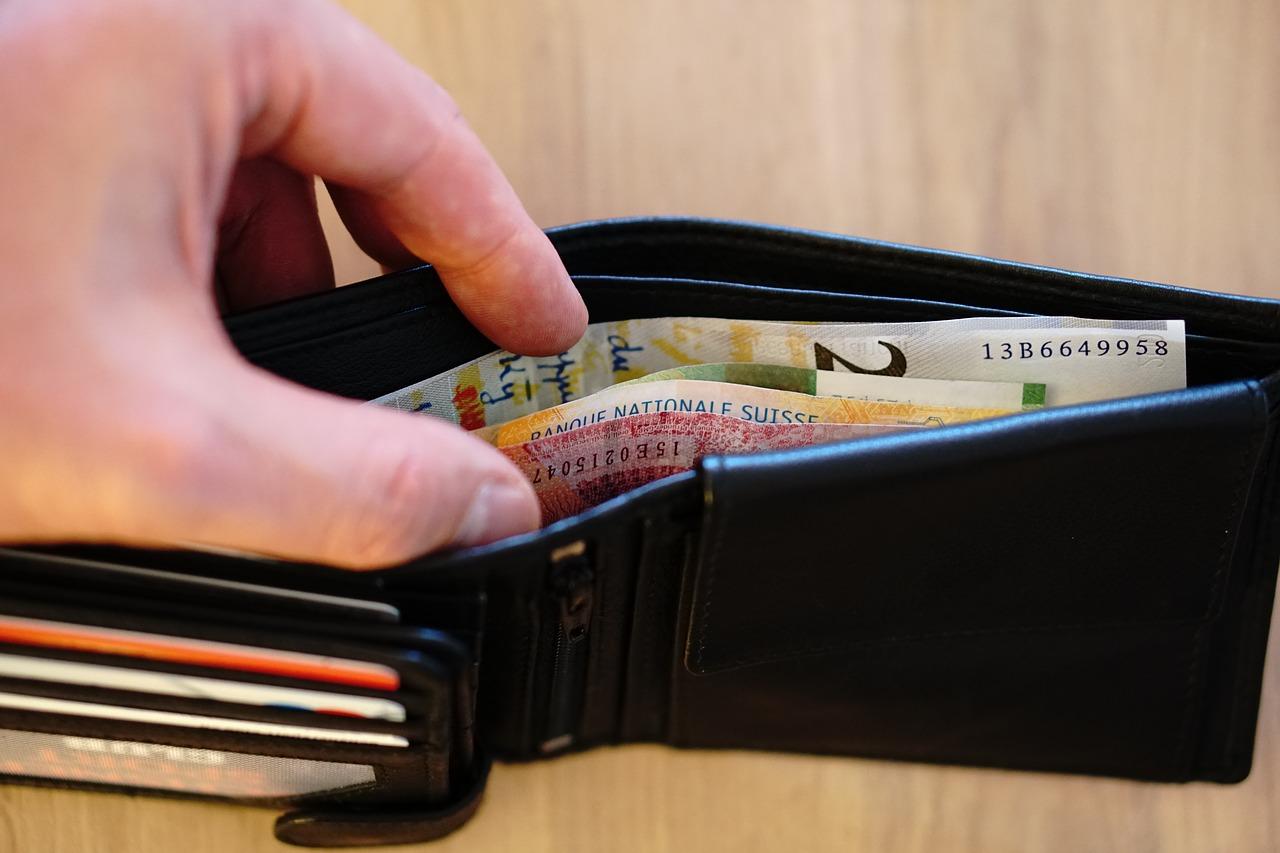 財布の中身 メンズ財布