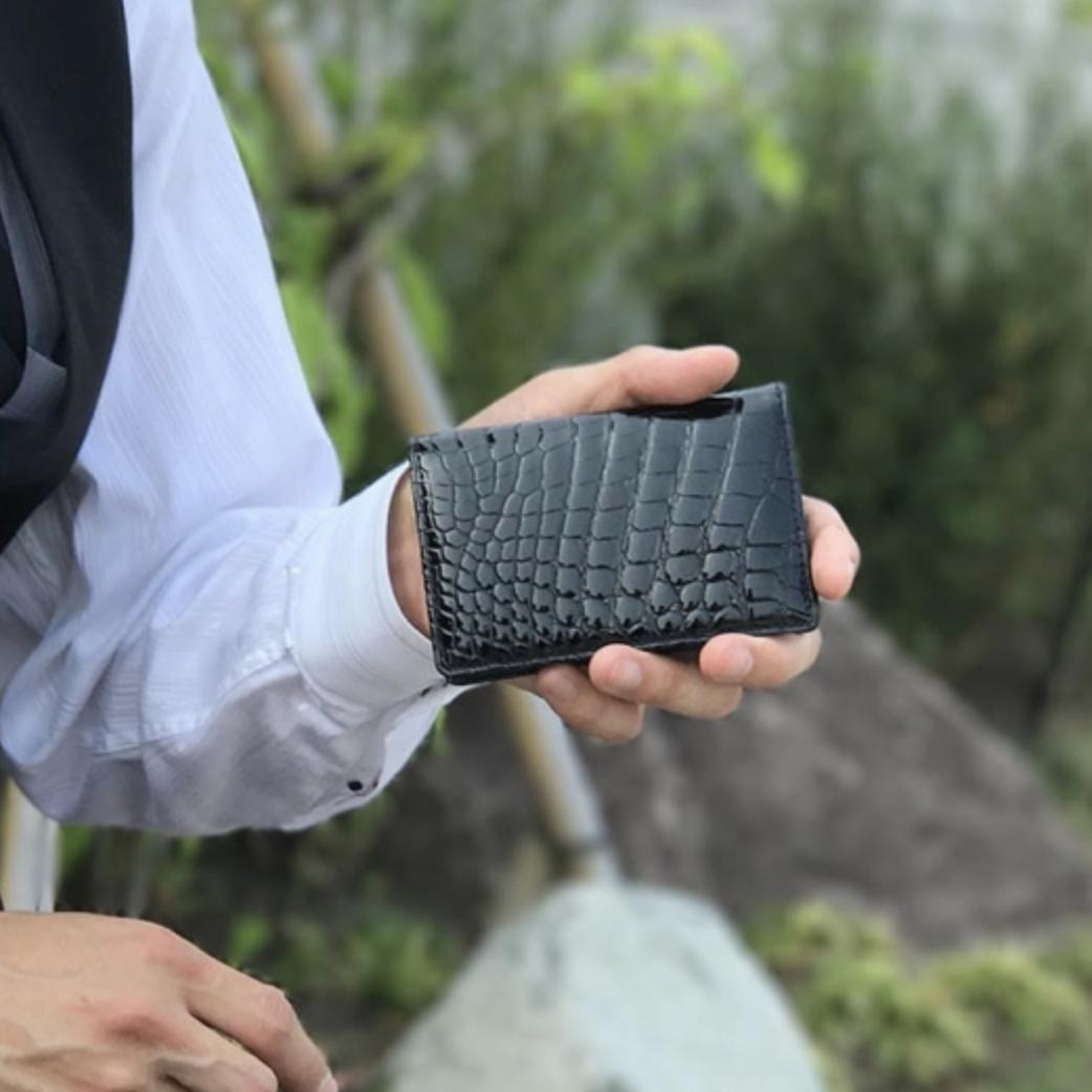 東京クロコダイル 財布メンズ