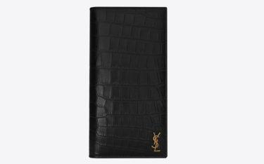 優雅でシックな財布ならSaint Laurent(サンローラン)!メンズ向けのエレガントな財布をご紹介!