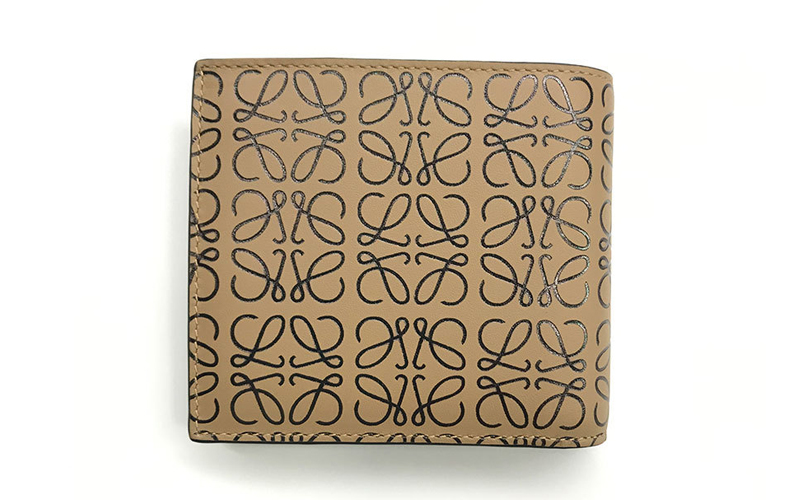 アナグラムデザイン・二つ折り財布