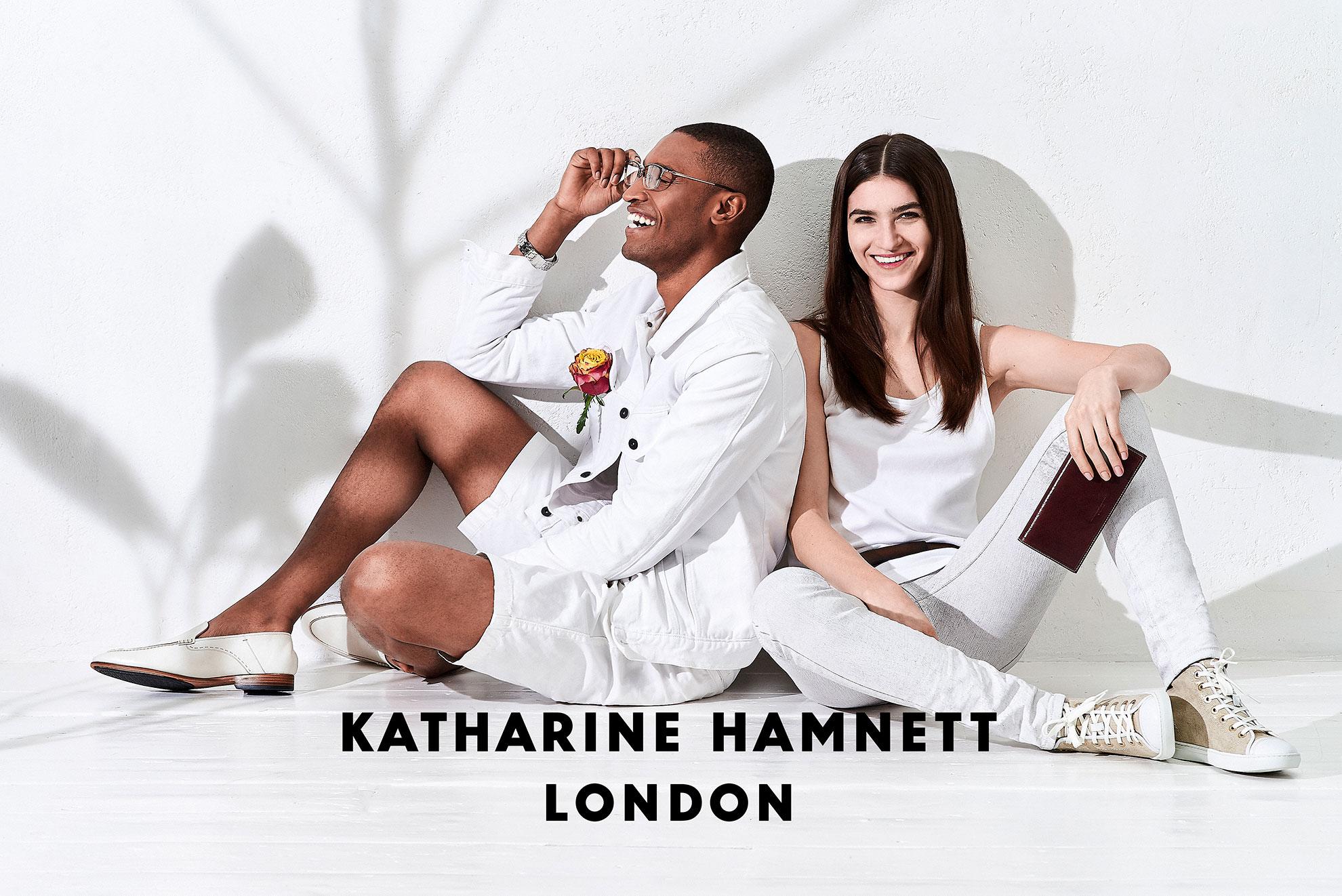 KATHARINE HAMNETT 財布メンズ