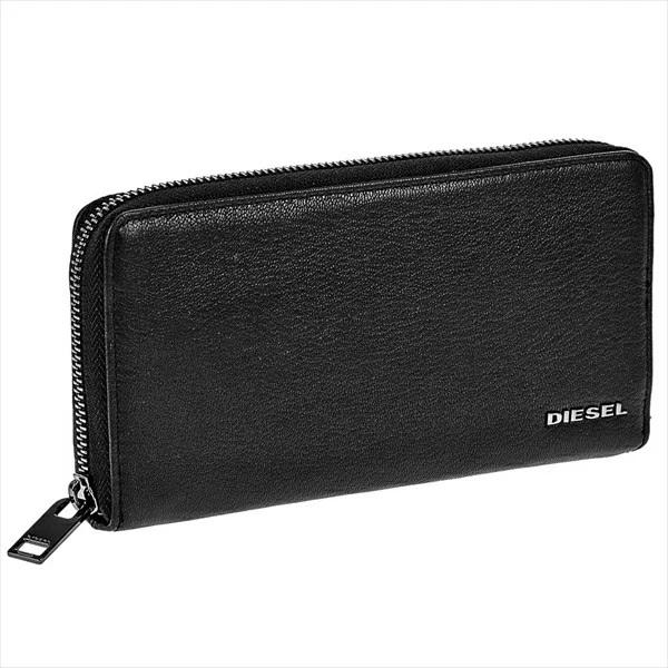 ラウンドファスナーのレザー長財布